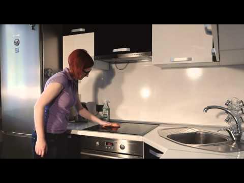 Как отмыть плиту и вытяжку от жира?