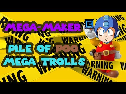 Let's Make A Kaizo Mega Man Level! ft Calebhart42: Mega-Maker