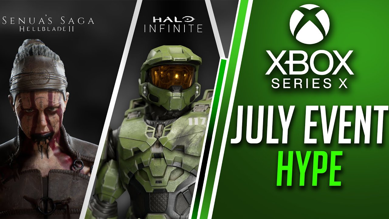 Xbox July Event Games Showcase HYPE | Xbox Series X New Games | How EXCITED Should You Be?