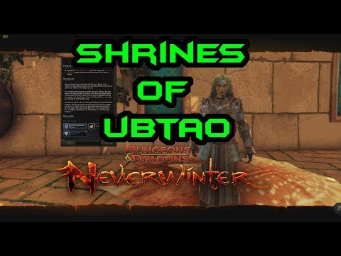 Neverwinter | HOW TO: Unlocked Shrines of Ubtao Weekly | MOD12 | PC PS4 XBOX