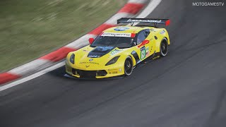 Project CARS [PC] - 2015 Chevrolet Corvette C7.R at Nurburgring GP 4k Gameplay