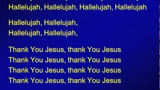 004 - Hallelujah, thank you Jesus - M
