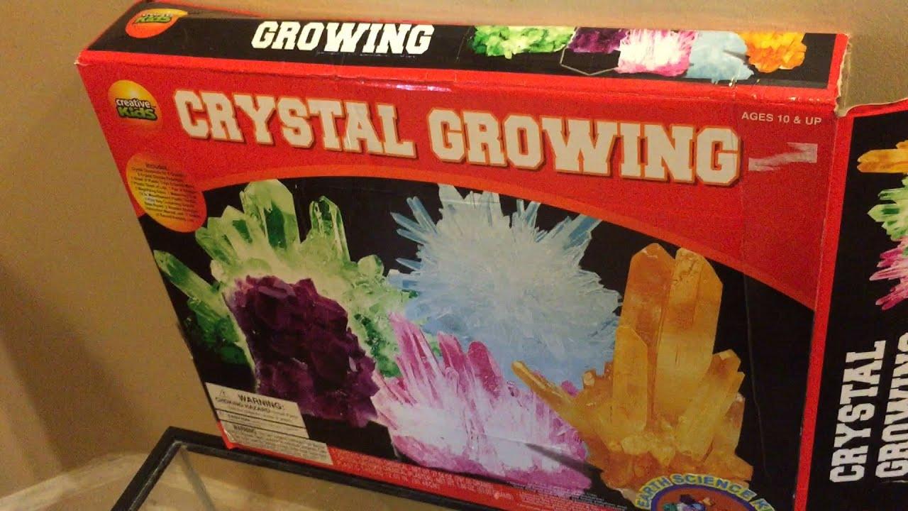 Crystal Growing Kit Fail Creative Kids Brand Youtube