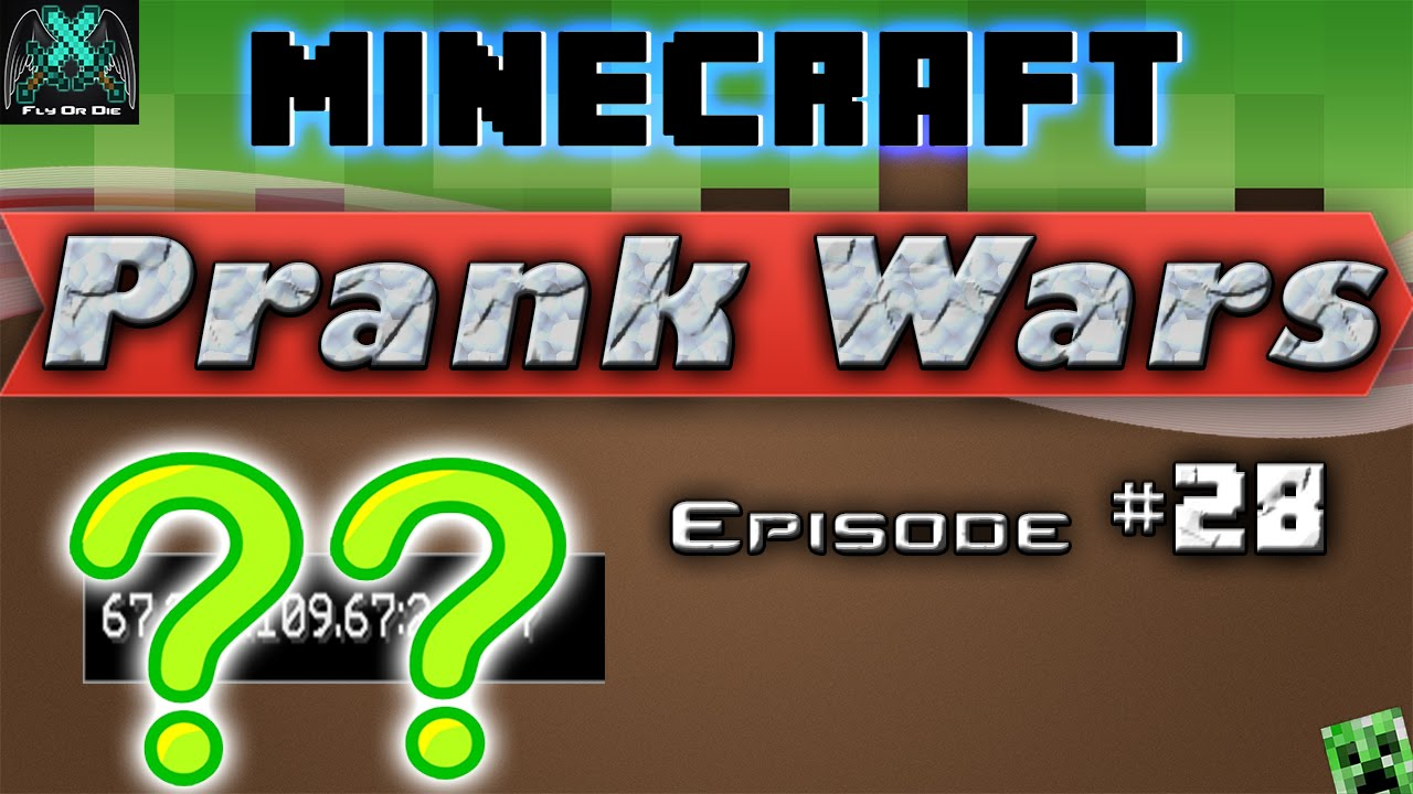 Minecraft Prank Wars Minecraft Server
