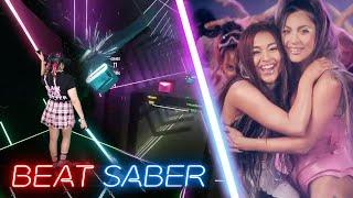 Baixar Lady Gaga & Ariana Grande - Rain On Me - Expert | Beat Saber Mixed Reality