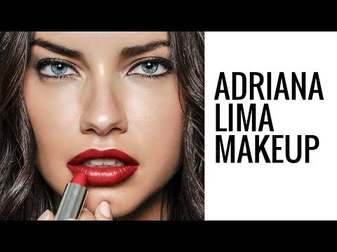 ADRIANA LIMA MAKEUP TUTORIAL | Glam Makeup | Eman