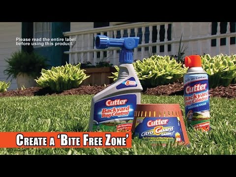 Cutter® Insect Repellent | Backyard™ Bug Control Products - YouTube