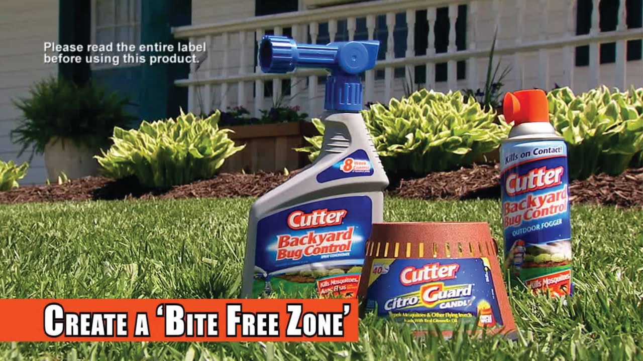 Cutter® Insect Repellent | Backyard™ Bug Control Products   YouTube