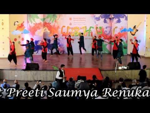 Bhangra performance at Baroda Manipal School of Banking, Bangalore