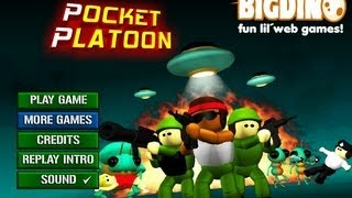 Pocket Platoon Level1-8 Walkthrough