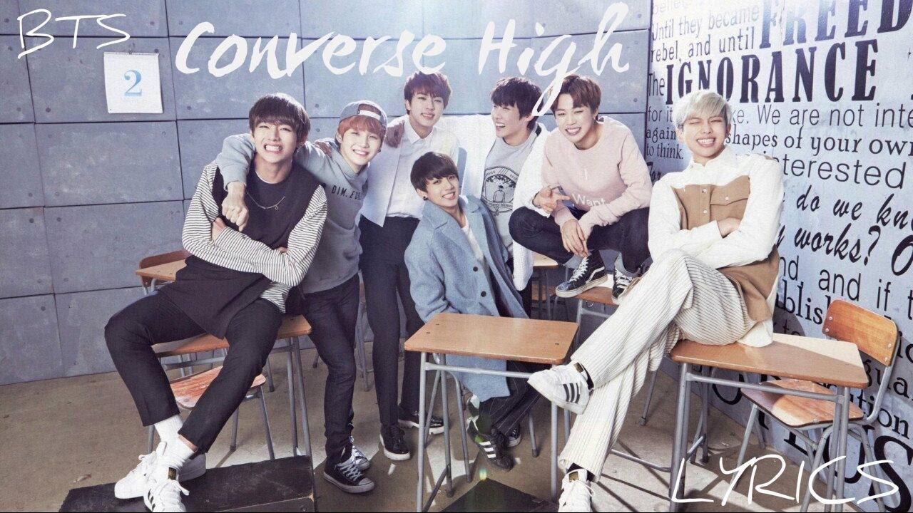 BTS (방탄소년단) - 'Converse High' [Han|Rom|Eng lyrics]