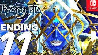 BAYONETTA 2 - Gameplay Walkthrough Part 11 - Ending & Final Boss (Remastered) Switch