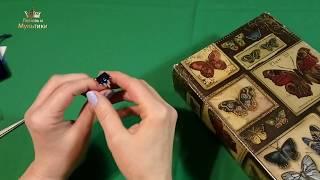 Ювелирная Бижутерия Комплект Сапфир Распаковка Обзор Женские Радости
