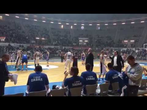 KK Zadar-KK Cibona 90:80, 26. ožujka 2017