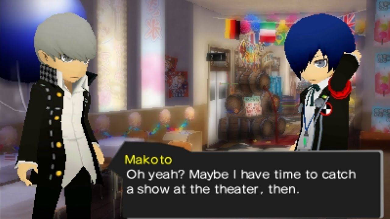 Persona q dating in Sydney