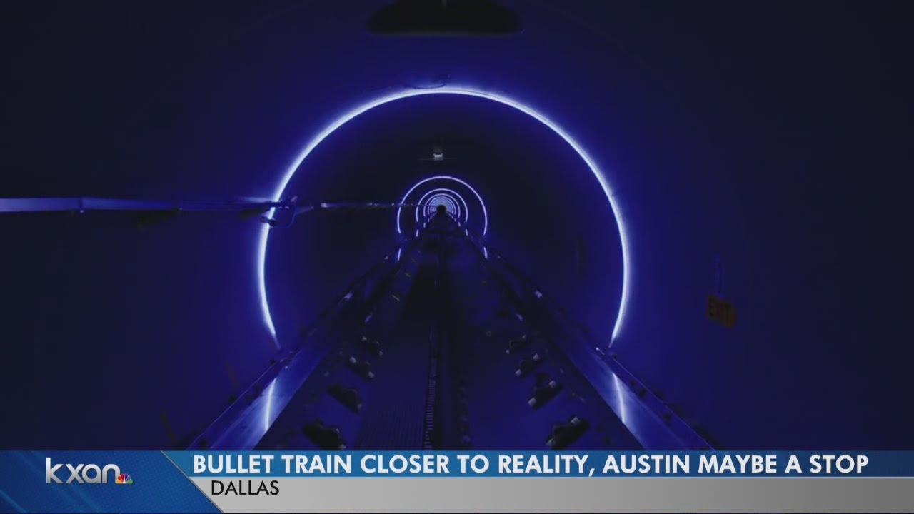 Texas hyperloop bullet train closer to reality, Austin may be a stop