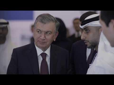 HE Shavkat Mirziyoyev, President of Uzbekistan, visits Masdar City