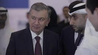 he-shavkat-mirziyoyev-president-of-uzbekistan-visits-masdar-city