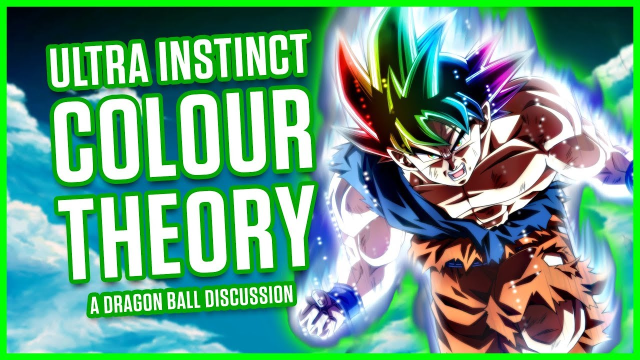 Ultra Instinct Color Theory A Dragon Ball Discussion