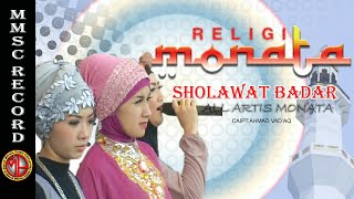 Video MONATA RELIGI--SHOLAWAT BADAR download MP3, 3GP, MP4, WEBM, AVI, FLV Desember 2017