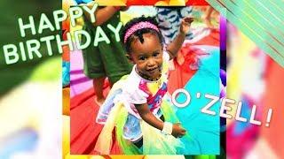 O'Zell's Birthday Scrapbook - GloZell xoxo