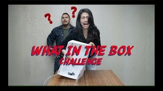 WHAT'S IN THE BOX CHALLENGE WITH #NINDY AND UNCLE_JULZ !@#$%%^