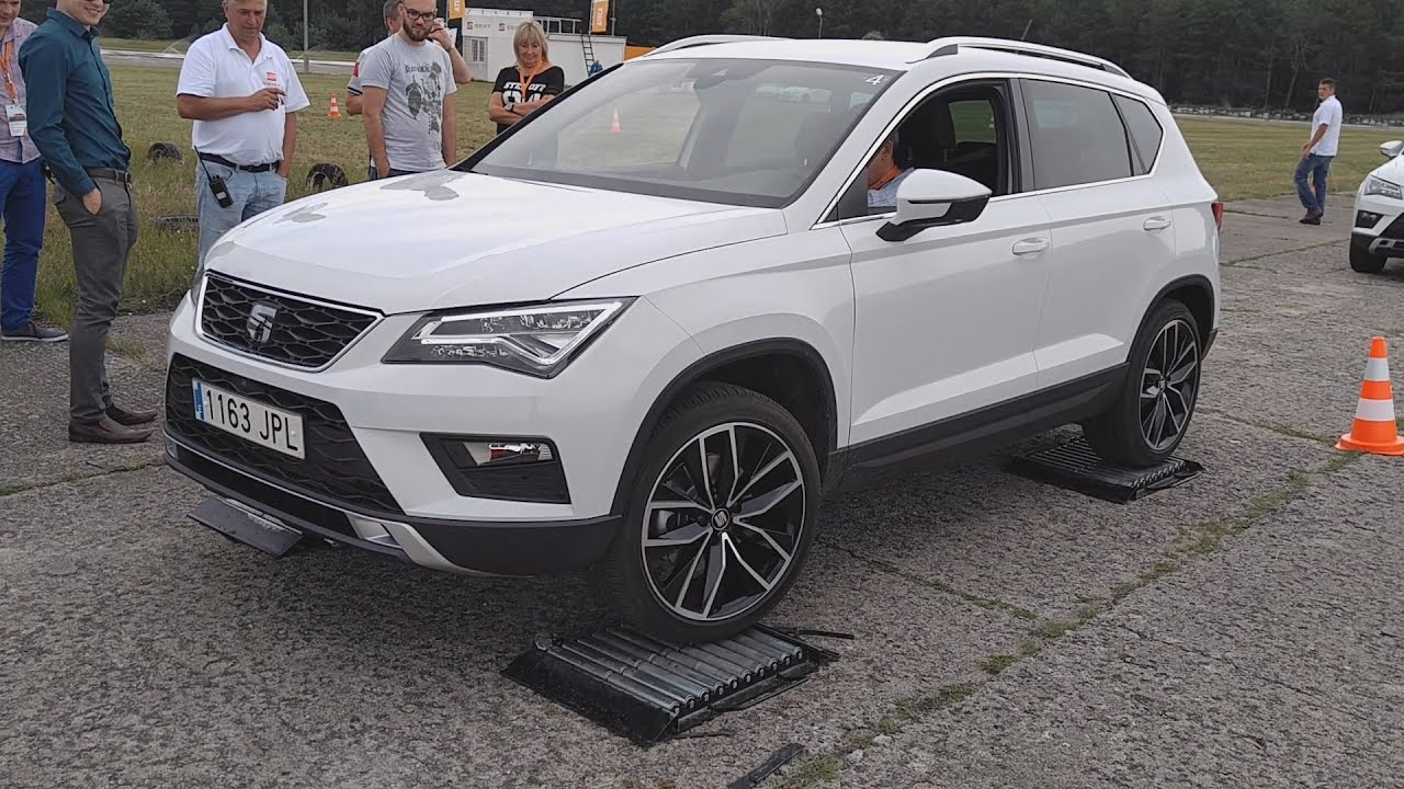 seat ateca 4drive system 4 wheel drive test 1001cars youtube. Black Bedroom Furniture Sets. Home Design Ideas