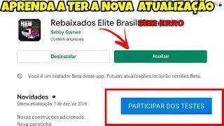 APRENDA COMO ATUALIZAR O REBAIXADOS ELITE BRASIL SEM ERRO