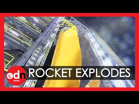 Moment World's Largest Rocket Fuel Tank Explodes during NASA Test