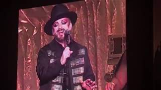 "Culture Club ""Karma Chameleon"" (live - 9/3/18)"