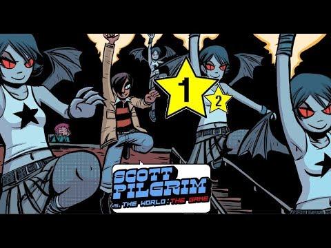 Scott Pilgrim Vs. The World: The Game - Episódio 1 - Part 2/2 - Matthew Patel (pt - Br) Gameplay.