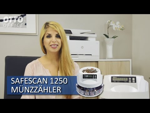 Safescan 1250 Münzzähler und Sortierer Produktvorstellung von OTTO Office