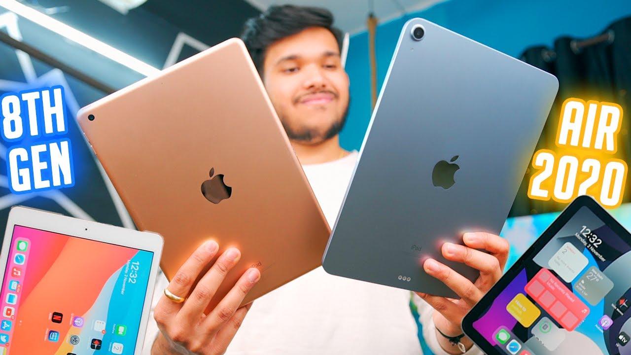 iPad Air 2020 vs iPad 8th Gen 2020 vs Ipad 7 ! Best One to ...
