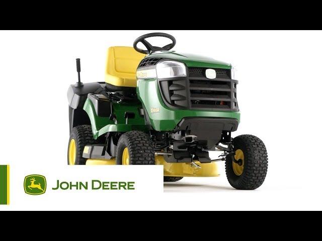John Deere - Tracteur de jardin X146R