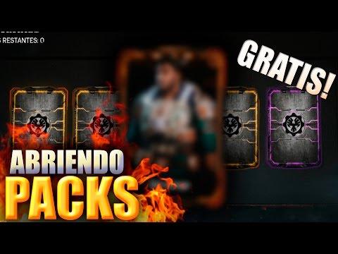 GEARS OF WAR 4   MAS DE 40 PACKS GRATIS   POR FIN LOS TENGO!!!