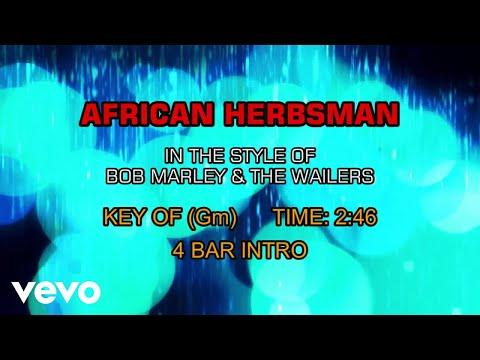 Bob Marley & The Wailers - African Herbsman (Karaoke)