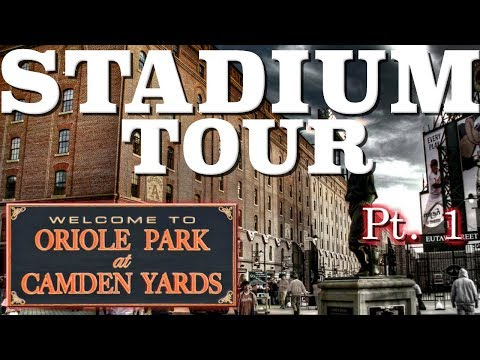 Orioles Park at Camden Yards - All Access Tour - Part 1