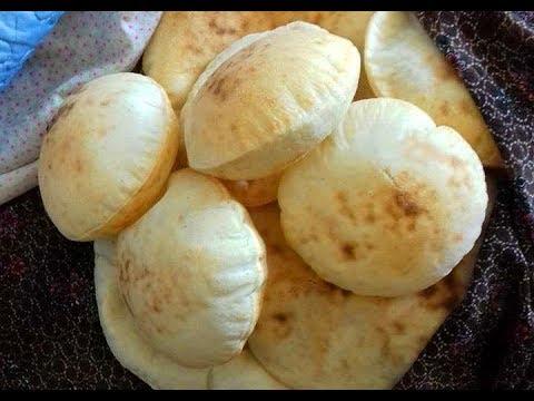 طريقة الخبز العربي اللبناني سر الوصفة الصحيحة Youtube