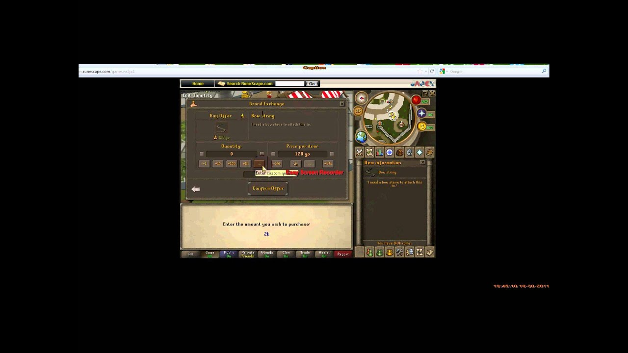 Runescape p2p money making guide 2011 #2 400k+/h youtube.