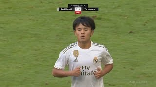 Download 18 Year Old Takefusa Kubo Debut Games For Real Madrid! | Pre-Season Highlights Mp3 and Videos