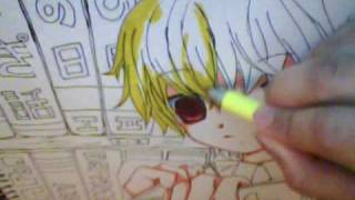 Drawing Anime/Manga Boy 図面美少年