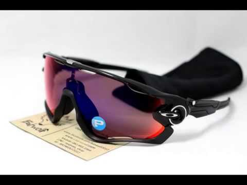 87e91b2fd2 Oakley Jawbreaker Black Ink with oo red iridium polarized.wmv - YouTube