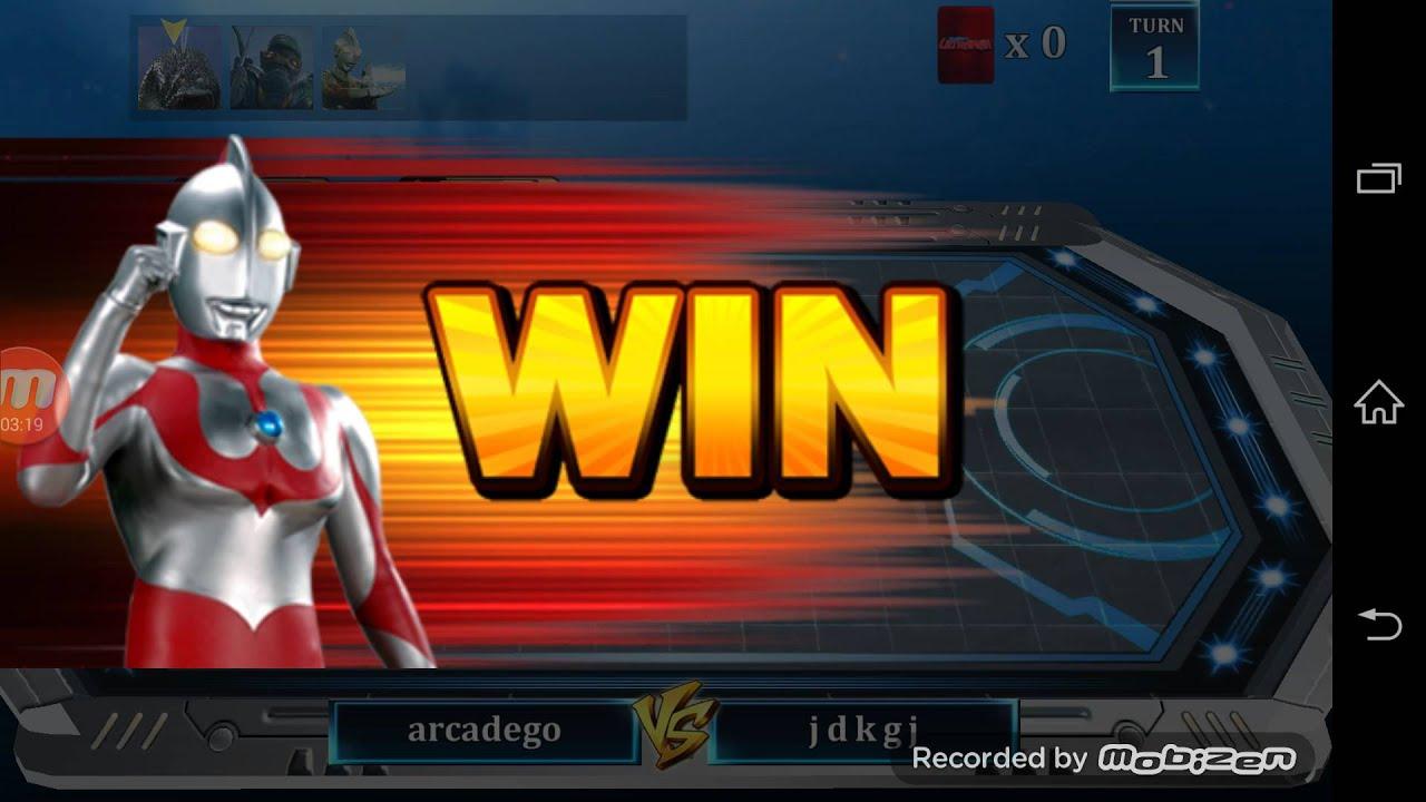 Ultraman Battle Online Game Part 1 Youtube