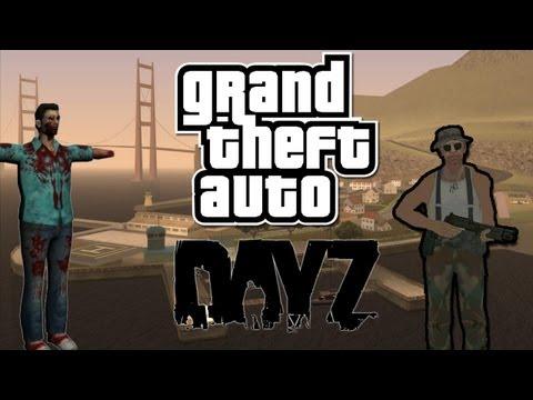 GTA San Andreas DayZ Mod - EP.01 Old Man Wiggens'