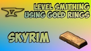 Skyrim: How to Get 100 Smithing Fast (After Patch 1.5)