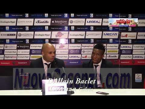 Cosenza-Leonzio play off 2-1, Baclet e Okereke