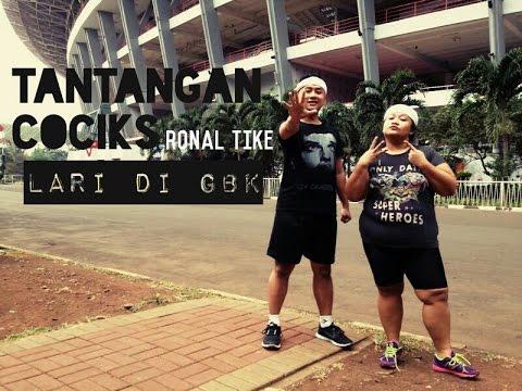 Tantangan Cociks Ronal Tike Lari-Larian di GBK