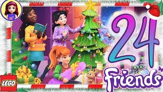 Day 24 Build your Christmas Tree Decorations - Lego Friends Advent Calendar 2018