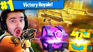 *NEW* SECRET CHESTS & LUCKIEST LOOT!!! (Fortnite: Battle Royale!)