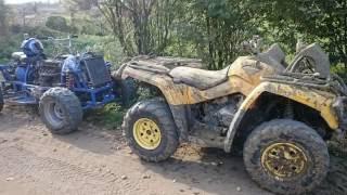 Quad ATV  4x4 budowa ( ZMOTA )